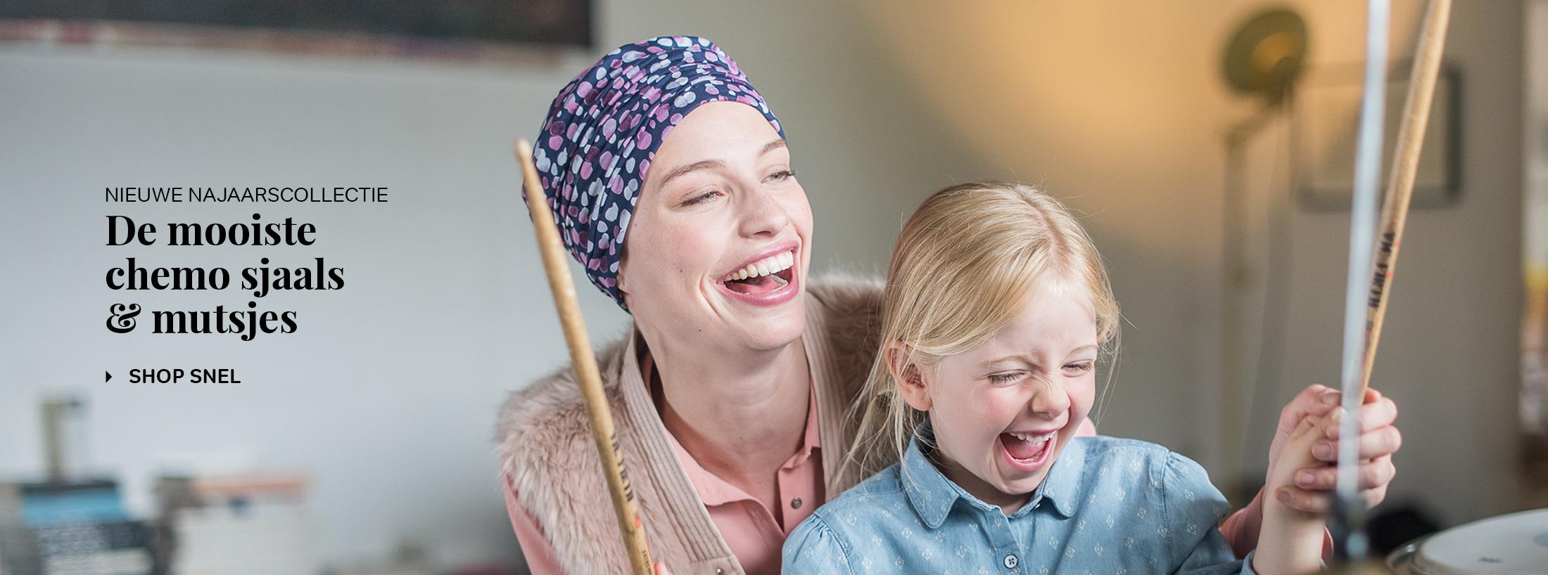 nieuwe chemo mutsjes chemo sjaals