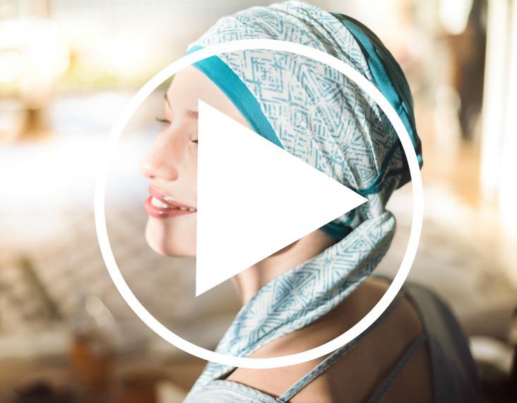 vidéo turbans chimio rosette la vedette