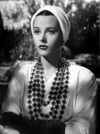 Hedy Lamarr turban