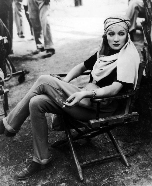 Marlene Dietrich Turban