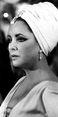 Liz Taylor turban