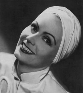 Greta Garbo turban