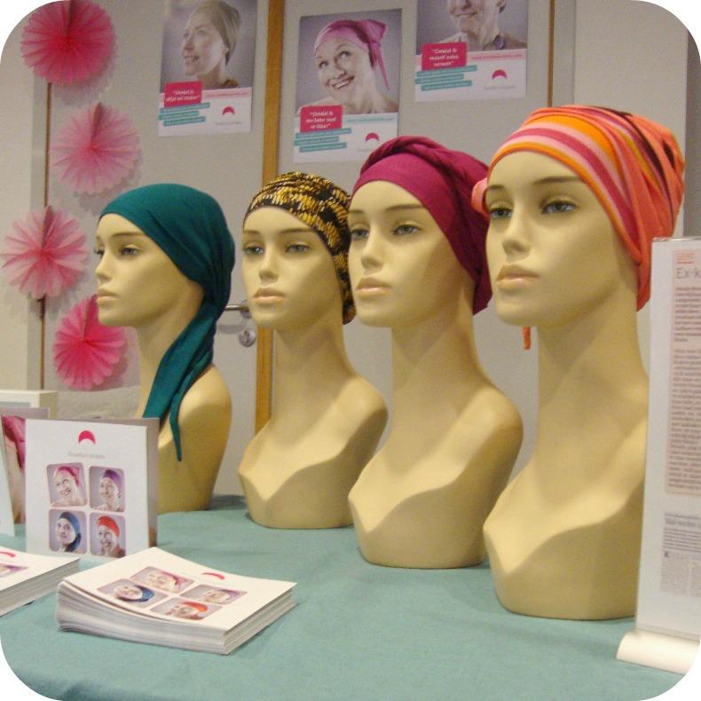 Journée contre le cancer - foulards - rosette la vedette