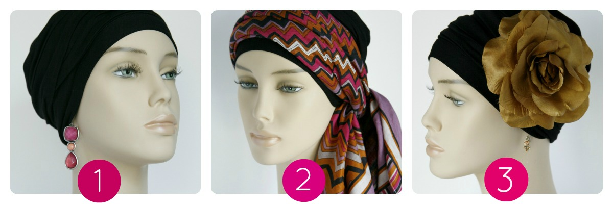 turban-cancer-foulard-chimio-noir