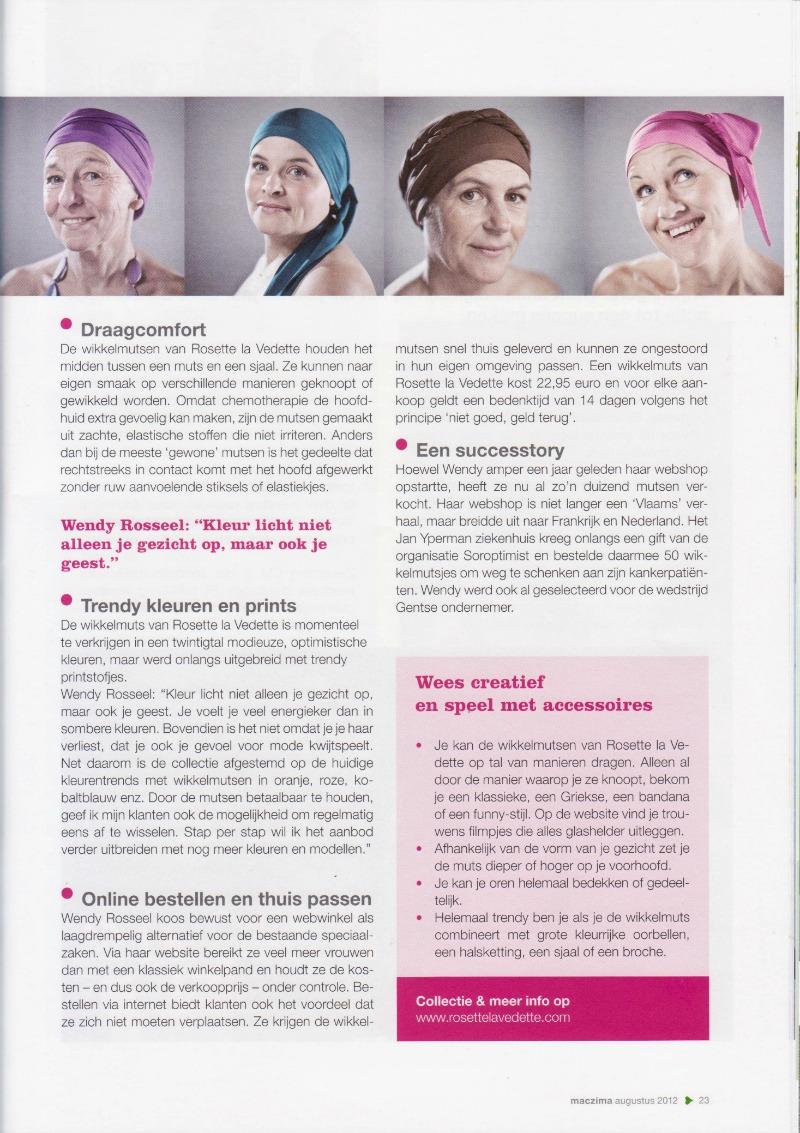Rosette la Vedette-interview-Maczima