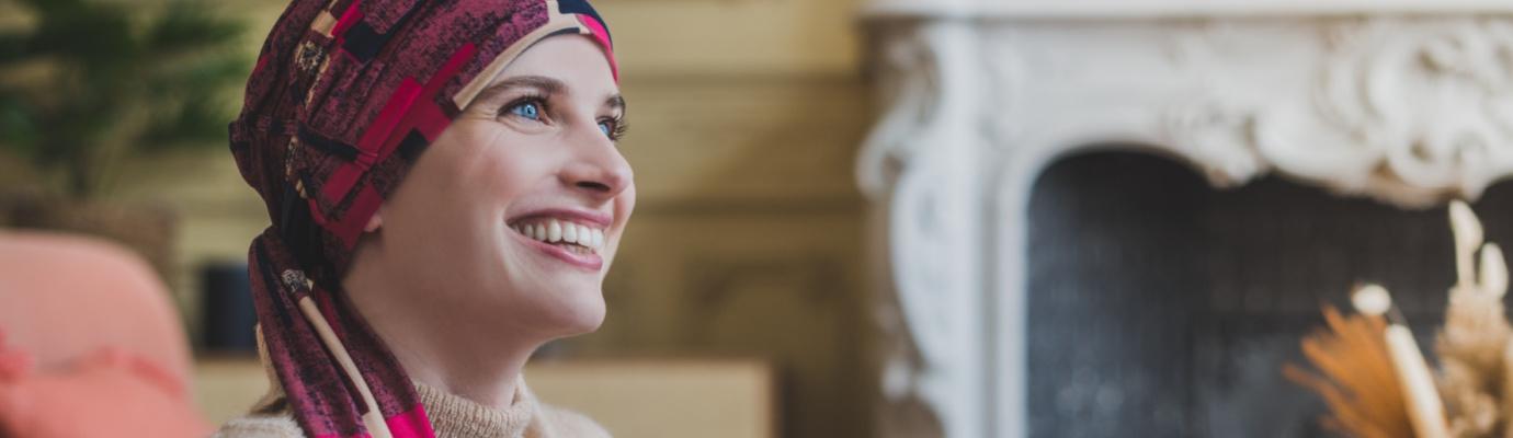 Pre-shaped head scarves Liz