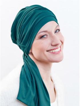Chemo sjaal Liz - Aqua