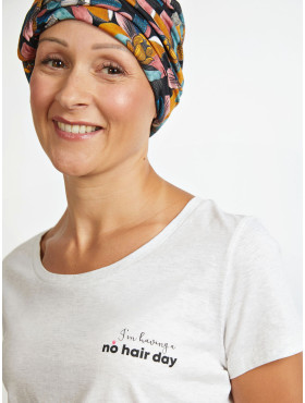 T-shirt - No hair day - maat XL