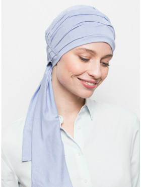 Foulard chimio Liz - Dreamy Blue