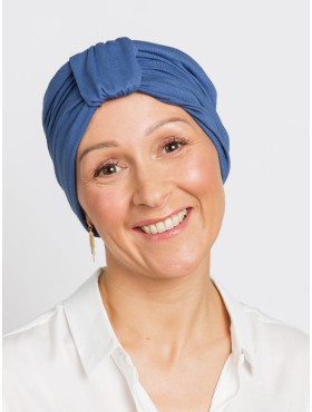 Chemo turban Ella - Night Blue
