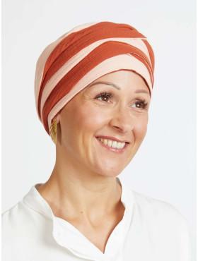 Head scarf cotton Hannah – Rusty Blush Power