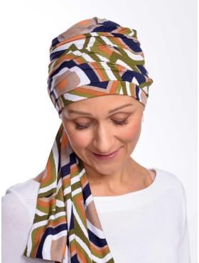 Chemo scarf Liz - Faro