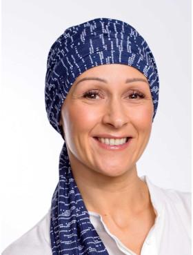 Chemo scarf Liz - Stardust