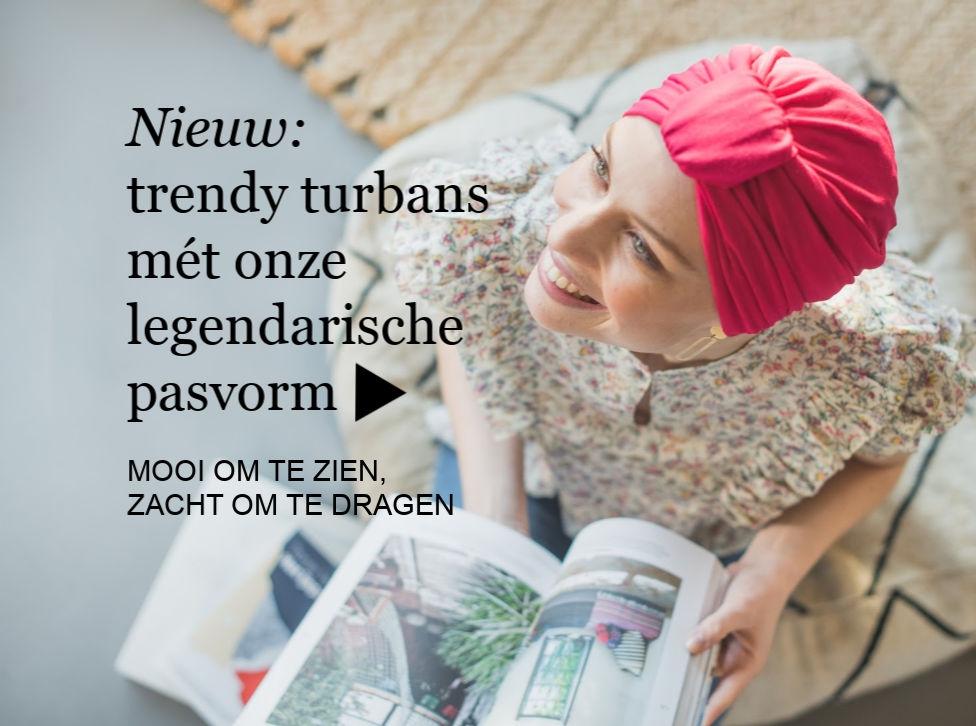 Nieuwe turban chemo mutsjes