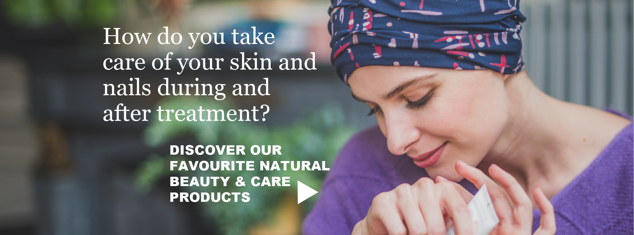 skincare cancer patients