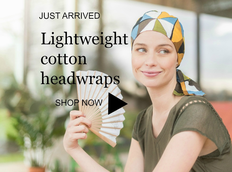 cotton chemo headwraps