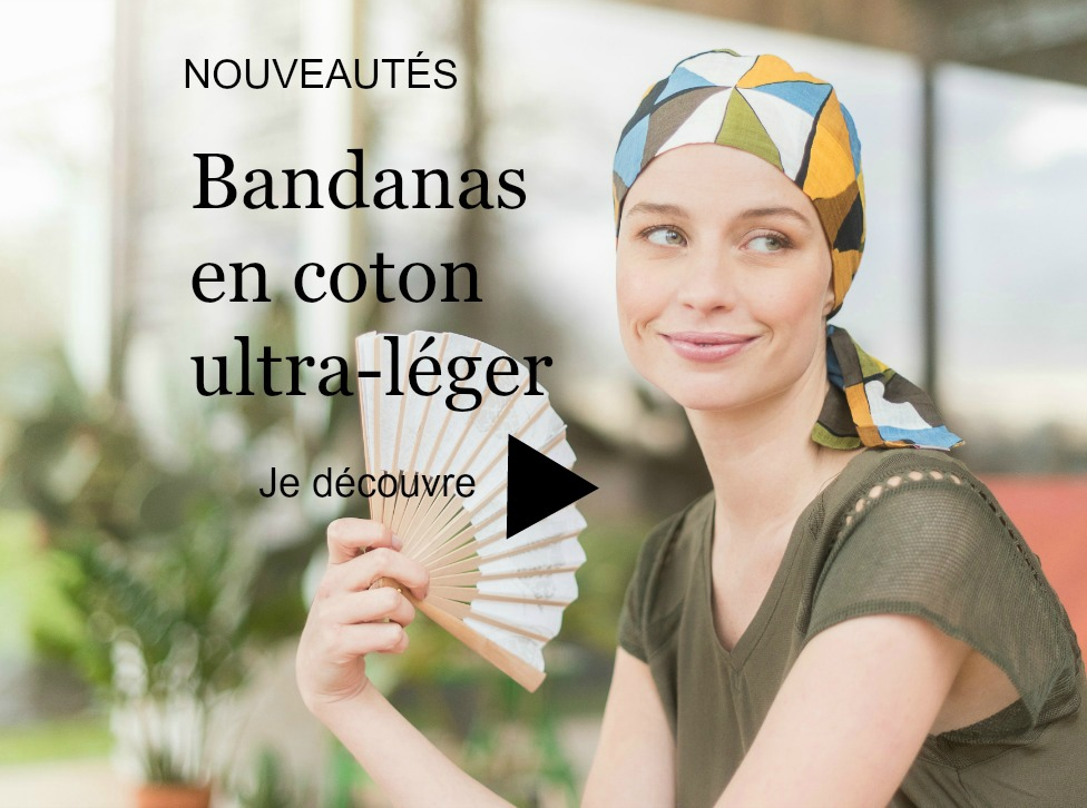 foulard chimiothérapie bandana coton