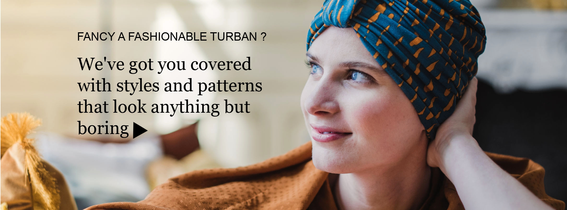 alopecia turbans for chemo patients
