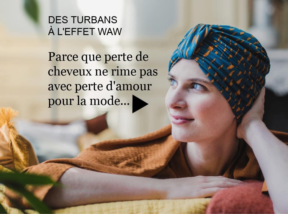 alopécie turbans chimiothérapie