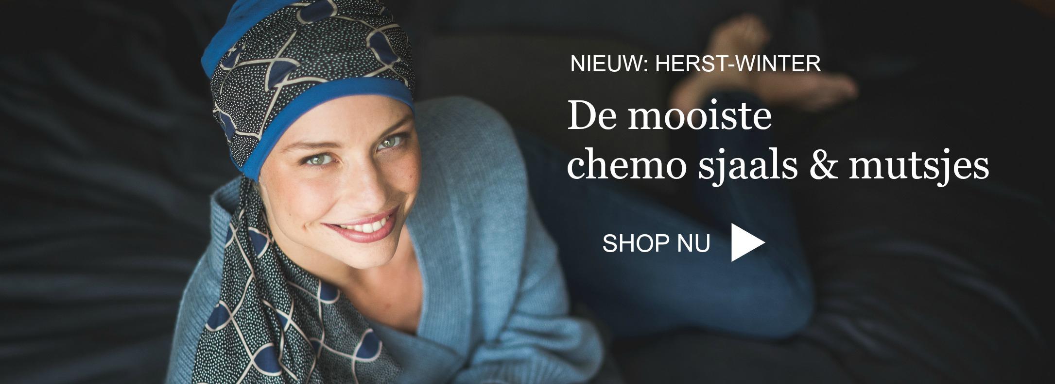 Nieuwe chemo sjaals & mutsjes