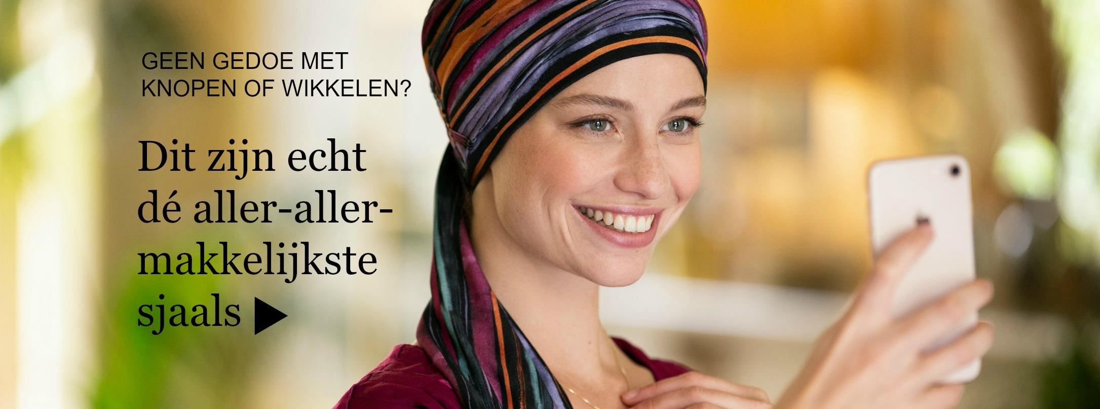 chemo sjaals na kanker of alopecia