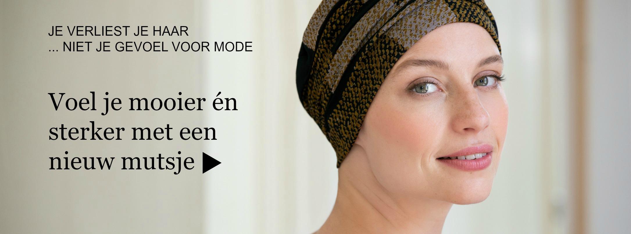 Chemo mutsjes voor haarverlies bij kanker of alopecia