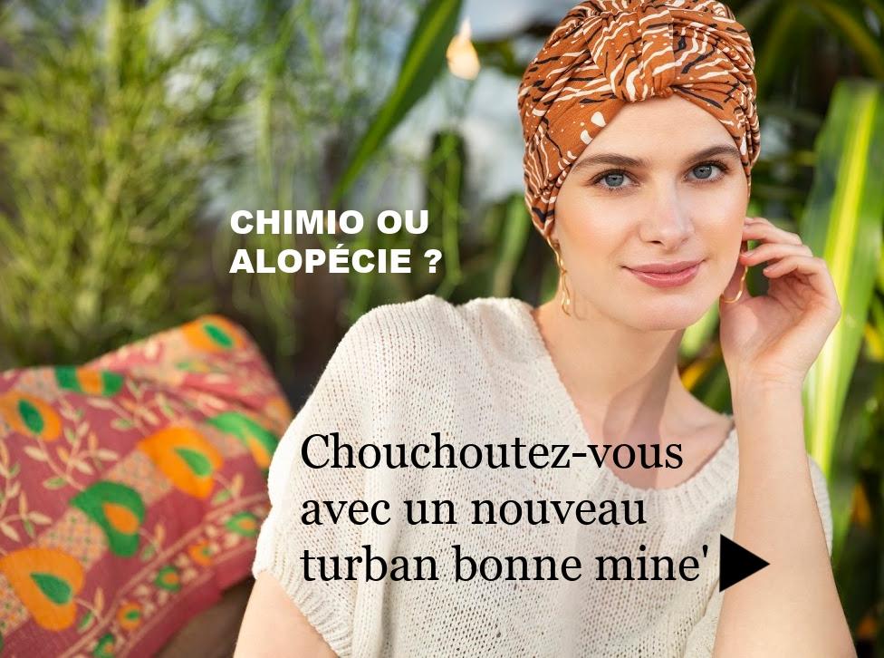 nouveaux bonnets & foulards chimio
