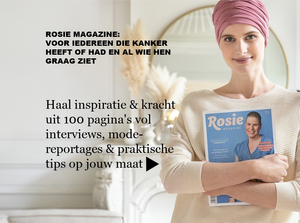 Rosie magazine over leven met & na kanker