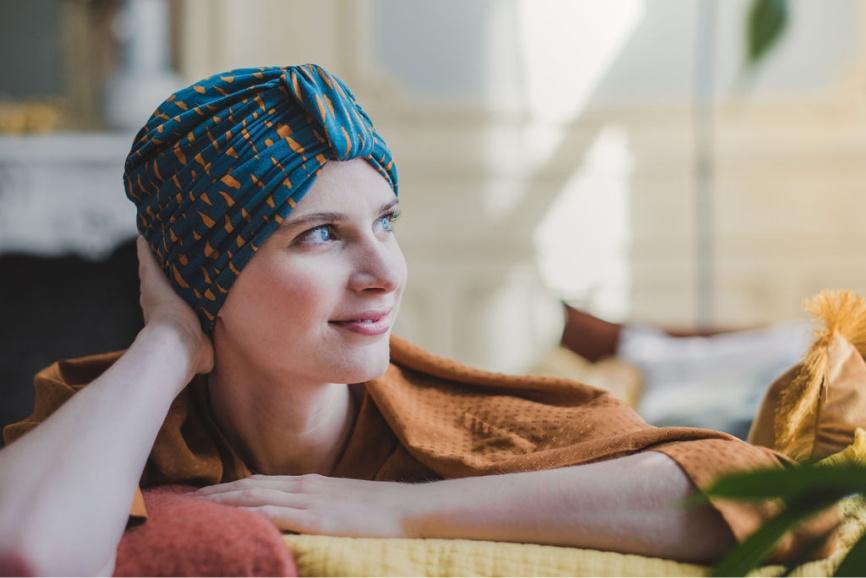 chemo mutsen chemotherapie rosette la vedette