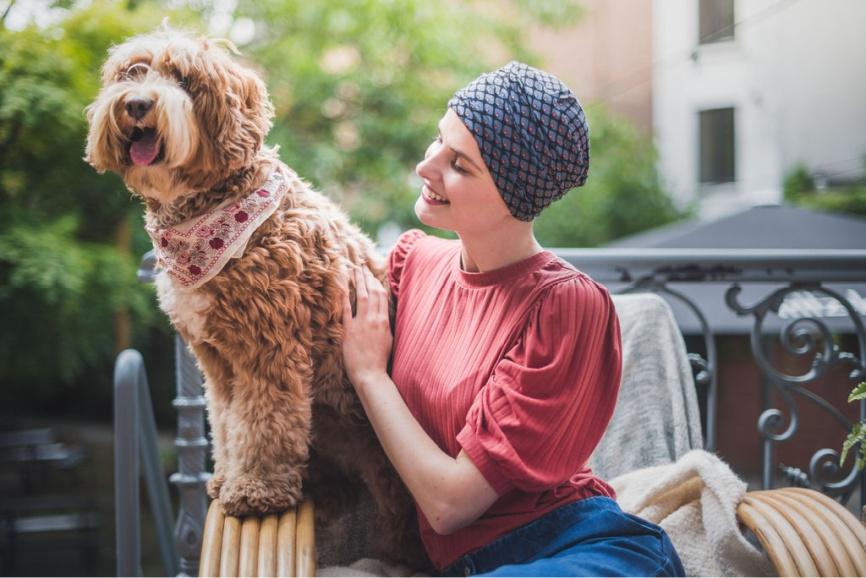 chemo mutsjes na kanker rosette la vedette