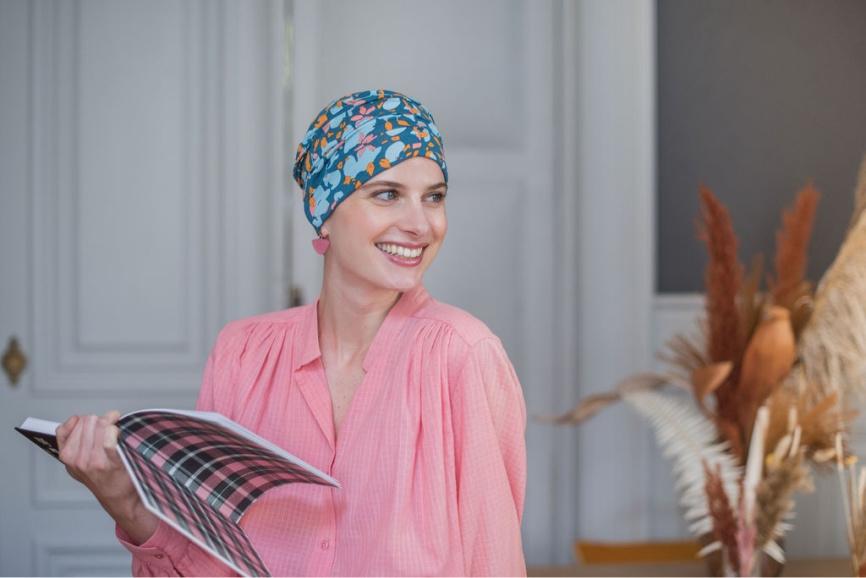 chemo headwrap rosette la vedette
