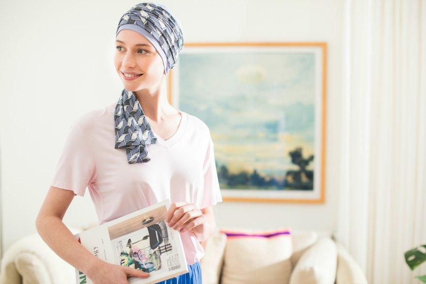 kanker sjaals na chemo rosette la vedette