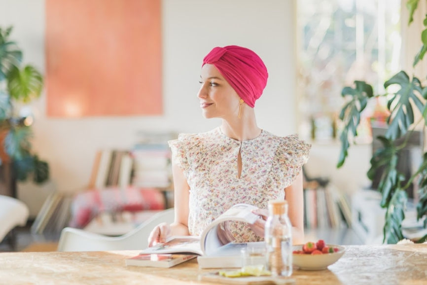 cancer turbans alopecia rosette la vedette