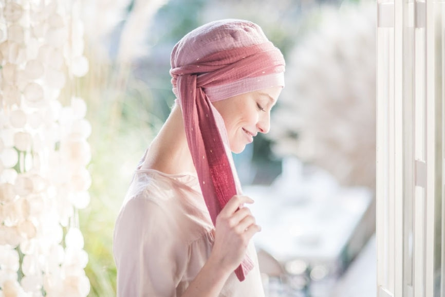 chemo hoofddoekje rosette la vedette