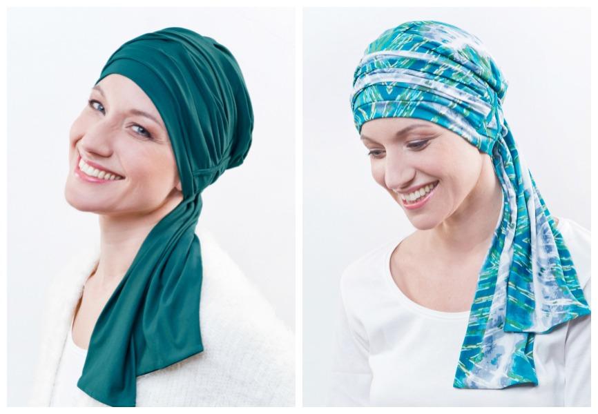 hoofddoek chemo rosette la vedette