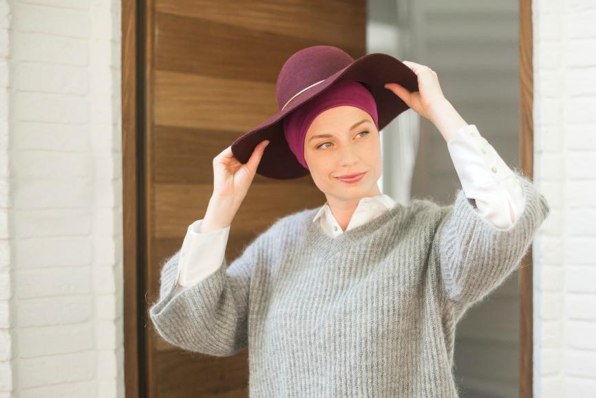 bonnet chimio rosette la vedette