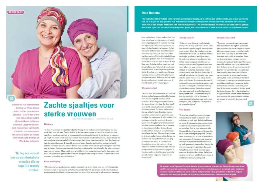 interview kanker sjaals
