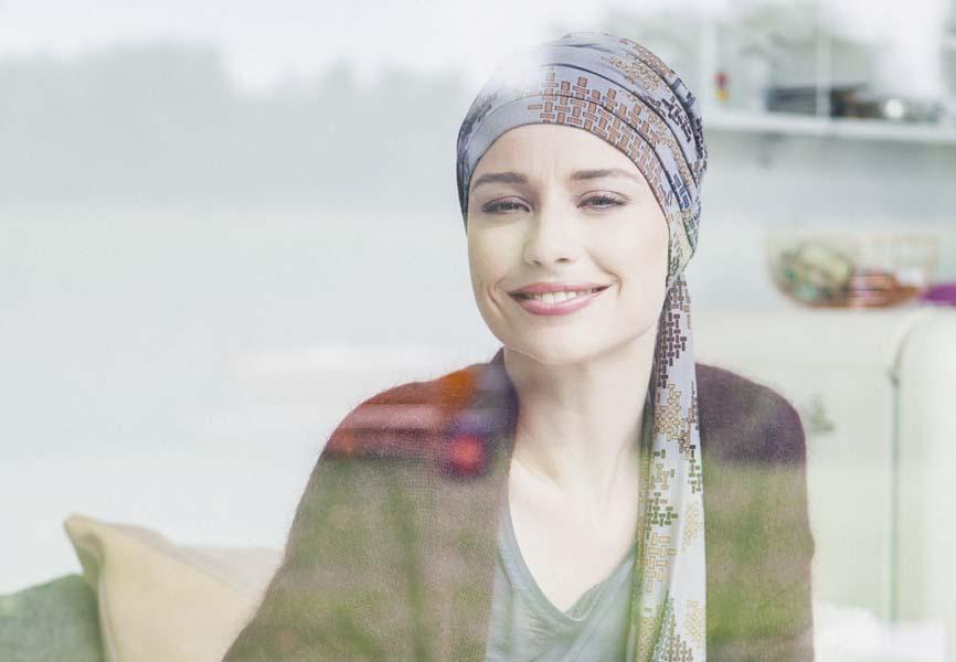 foulard pour chimio rosette la vedette