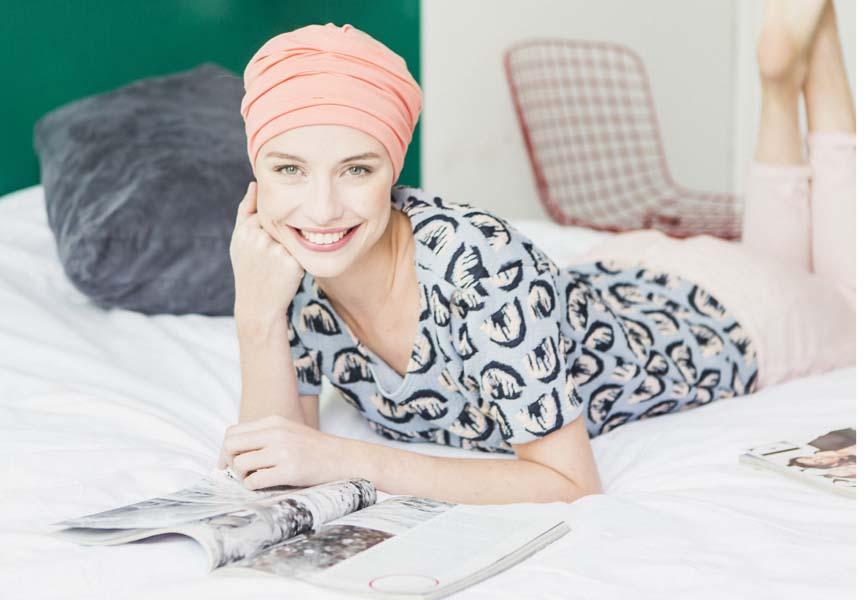 turban chimio rosette la vedette