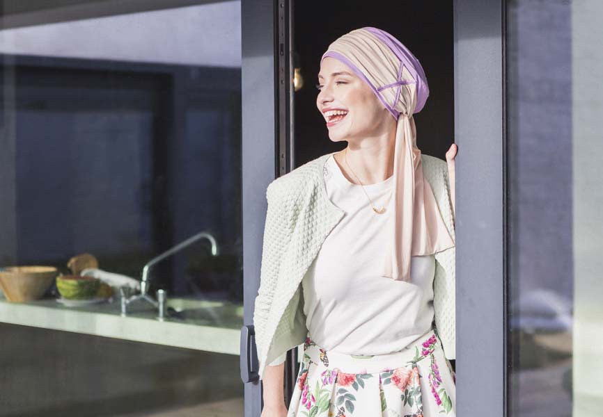 foulards chimio-rosette la vedette