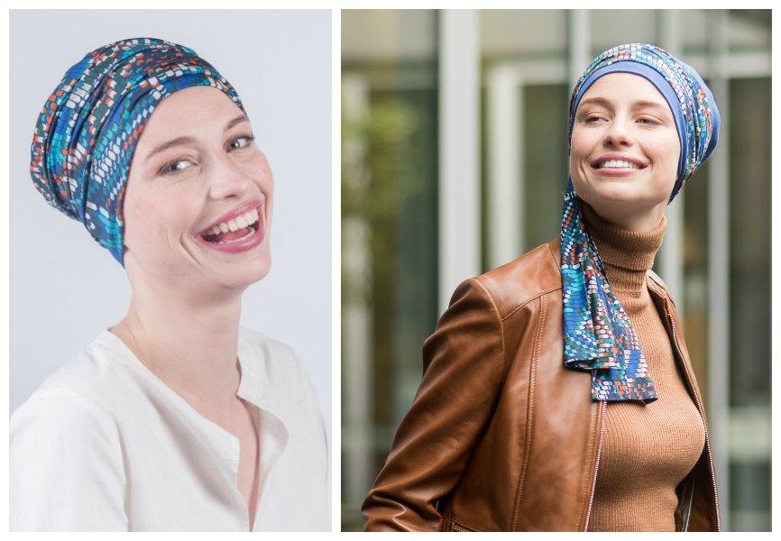 sjaals na kanker rosette la vedette