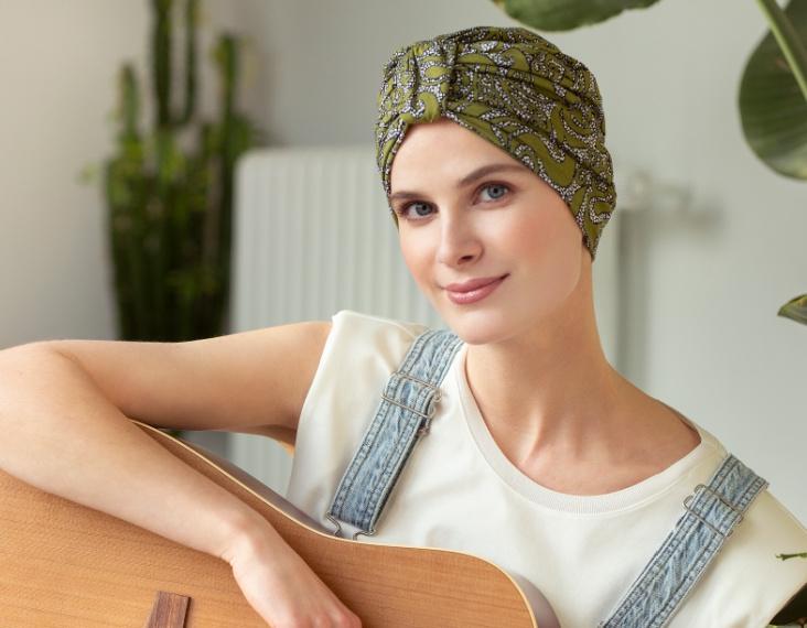 chemo turbans for cancer patients rosette la vedette