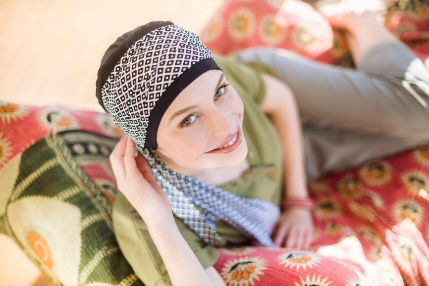 foulards chimio rosette la vedette