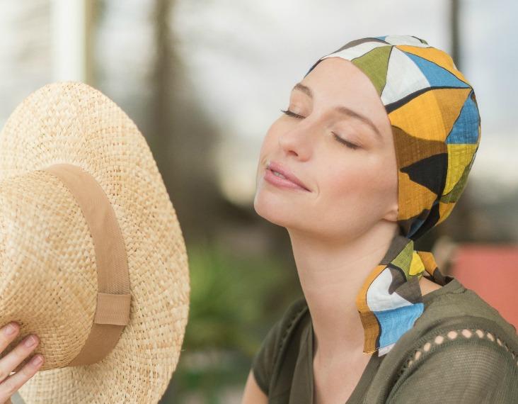 chemohoofddoekje hoed