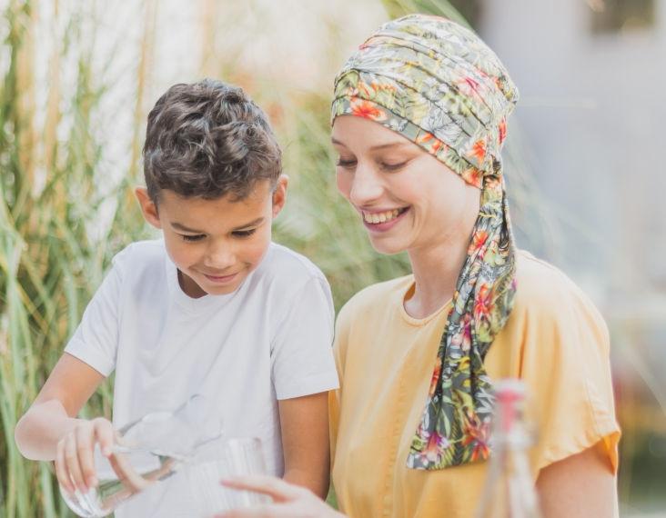 chemo scarves for alopecia rosette la vedette