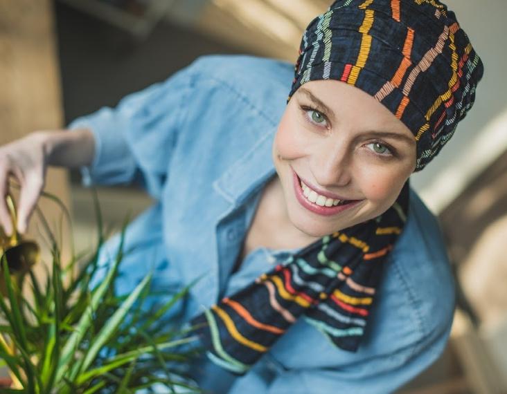 scarves for hairloss rosette la vedette