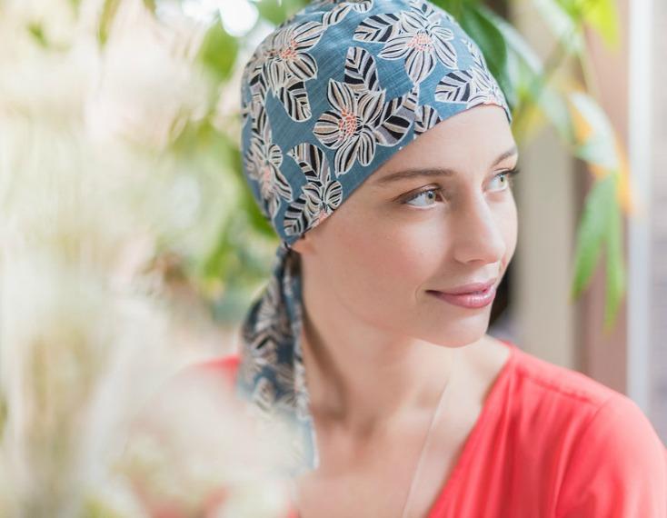chemo head wrap rosette la vedette